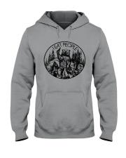 I Eat People Bear Camping Hiking Hooded Sweatshirt thumbnail