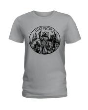 I Eat People Bear Camping Hiking Ladies T-Shirt thumbnail