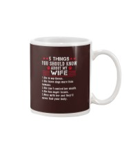 5 Things My Wife Husband Gift Mug thumbnail