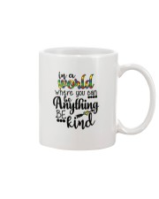 in a world where you can be anything be kind shirt Mug thumbnail