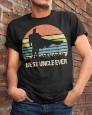 Vintage Best Uncle Ever Superhero Classic T-Shirt apparel-classic-tshirt-lifestyle-26