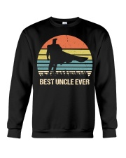 Vintage Best Uncle Ever Superhero Crewneck Sweatshirt thumbnail