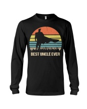 Vintage Best Uncle Ever Superhero Long Sleeve Tee thumbnail