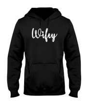 Wifey Shirt Funny Wife Shirt Hooded Sweatshirt thumbnail