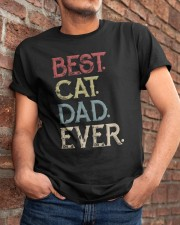 Vintage Best Cat Dad Ever Classic T-Shirt apparel-classic-tshirt-lifestyle-26