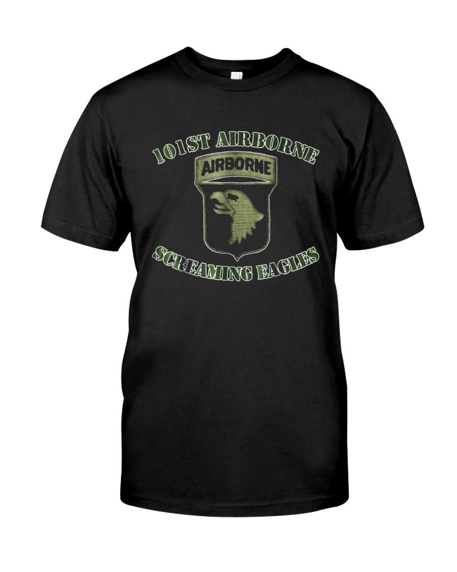101St Airborne Us Army Vets T Shirt 2 Veteran Tshi Classic T-Shirt