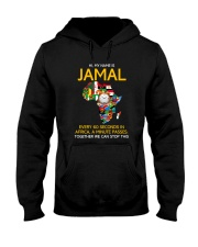Jamal Every 60 Seconds In Africa Tee Hooded Sweatshirt thumbnail