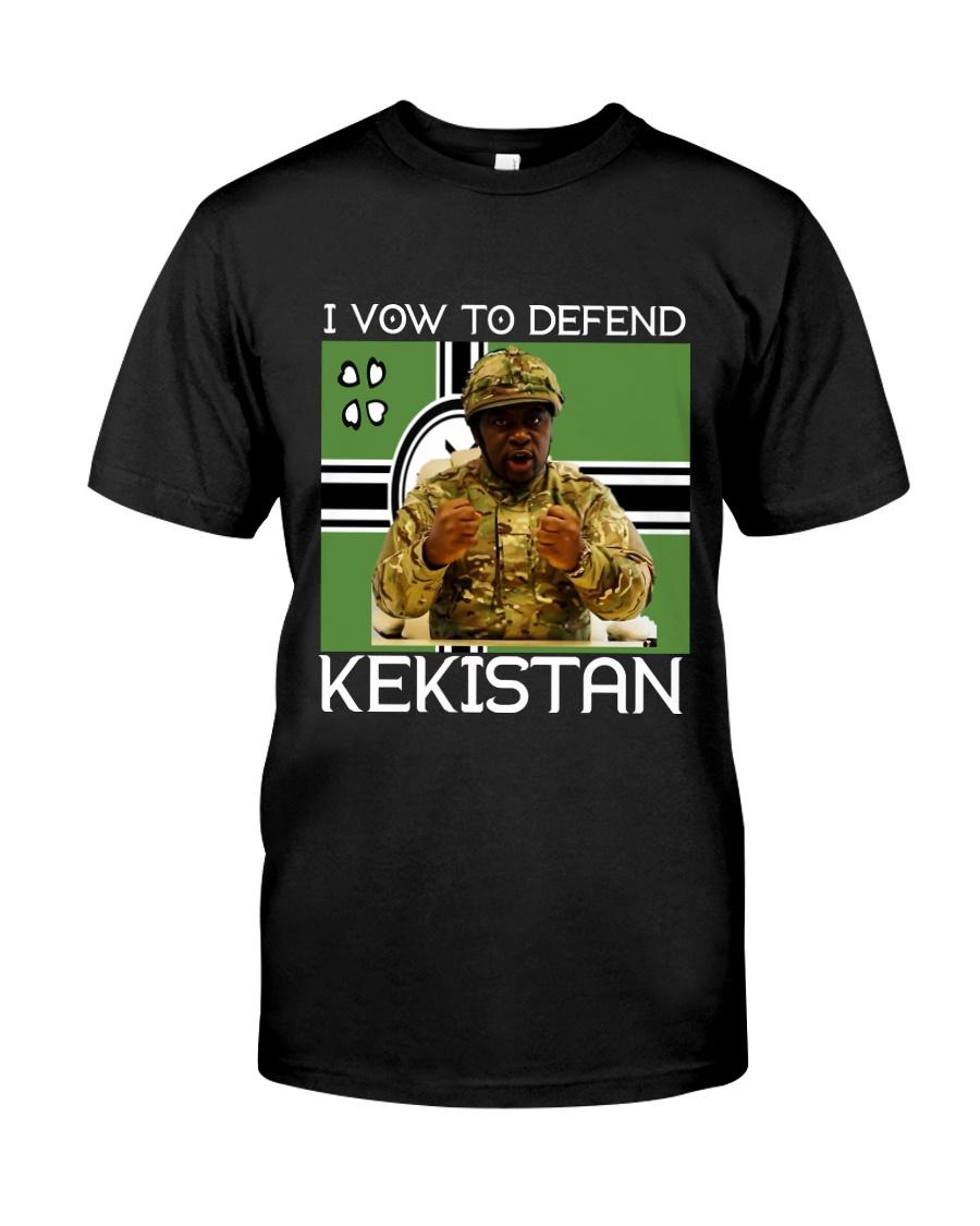 I VOW TO DEFEND KEKISTAN Classic T-Shirt