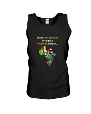 Big Man Tyrone's EVERY 60 SECONDS IN AFRICA Tee Unisex Tank thumbnail