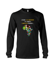 Big Man Tyrone's EVERY 60 SECONDS IN AFRICA Tee Long Sleeve Tee thumbnail