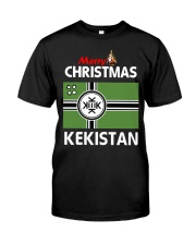 Kekistan Christmas Tees - MULTI-COLORS Classic T-Shirt front