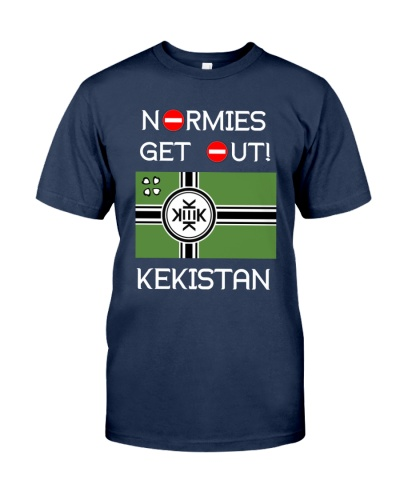 NORMIES GET OUT LIMITED EDITION TEE