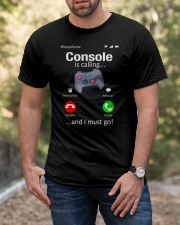 Console is Calling I must go Classic T-Shirt apparel-classic-tshirt-lifestyle-front-53