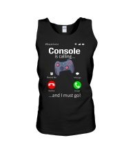 Console is Calling I must go Unisex Tank thumbnail
