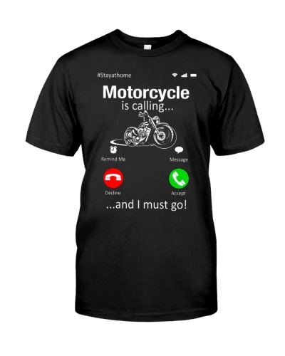 Motorcycle is calling I must go