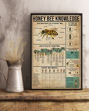 Honey Bee Knowledge 11x17 Poster lifestyle-poster-3