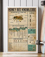 Honey Bee Knowledge 11x17 Poster lifestyle-poster-4