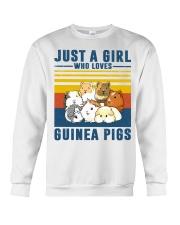 Just A Girl Who Loves Guinea Pigs Crewneck Sweatshirt thumbnail