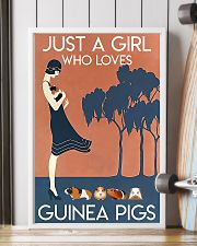 Just A Girl Who Loves Guinea Pigs 11x17 Poster lifestyle-poster-4
