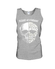 flight attendant a person who solve shit you can't Unisex Tank thumbnail