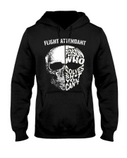 flight attendant a person who solve shit you can't Hooded Sweatshirt thumbnail