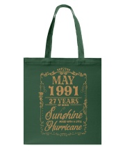 MAY 1991 LIMITED Tote Bag thumbnail