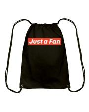 JUST A FAN Drawstring Bag thumbnail