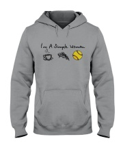 I'M A SINGLE WOMAN BASEBALL SHIRT Hooded Sweatshirt thumbnail
