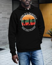 World's okayest disc golf plarer Hooded Sweatshirt apparel-hooded-sweatshirt-lifestyle-front-17