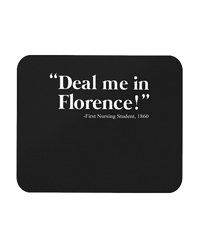 Deal Me In Florence Nurse Shirt