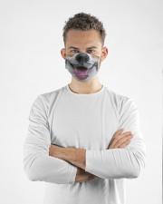 Corgi face Cloth face mask aos-face-mask-lifestyle-14