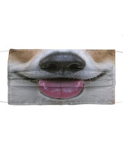 Corgi face Cloth face mask front