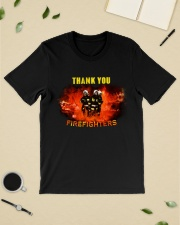 Thank you firefighters Classic T-Shirt lifestyle-mens-crewneck-front-19