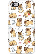 I love pug Phone Case i-phone-8-case