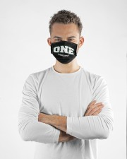 One percent merch face mask Cloth face mask aos-face-mask-lifestyle-14