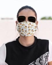 I love pug Cloth face mask aos-face-mask-lifestyle-02