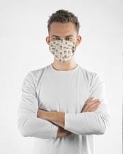 I love pug Cloth face mask aos-face-mask-lifestyle-14