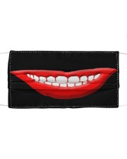 Lips face mask Cloth face mask front