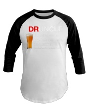 Your Favorite Druncle  Baseball Tee thumbnail