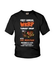 First Annual WKRP Turkey Drop Tshirt Youth T-Shirt thumbnail