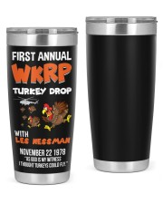 First Annual WKRP Turkey Drop Tshirt 20oz Tumbler thumbnail