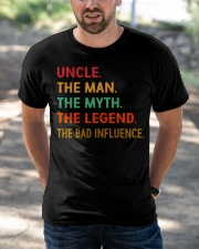 Uncle The Man The Myth The Legend Classic T-Shirt apparel-classic-tshirt-lifestyle-front-50