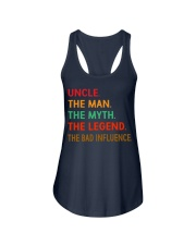 Uncle The Man The Myth The Legend Ladies Flowy Tank thumbnail