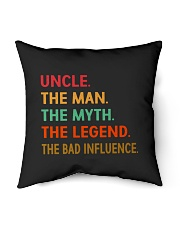 """Uncle The Man The Myth The Legend Indoor Pillow - 16"""" x 16"""" thumbnail"""