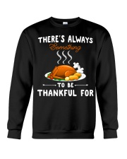 Grateful Thanksgiving Quote Crewneck Sweatshirt tile