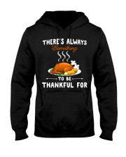 Grateful Thanksgiving Quote Hooded Sweatshirt thumbnail