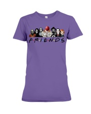 halloween shirt - halloween decorations indoor Premium Fit Ladies Tee thumbnail