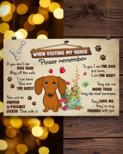 Dachshund Lover Poster No3 24x16 Poster aos-poster-landscape-24x16-lifestyle-30