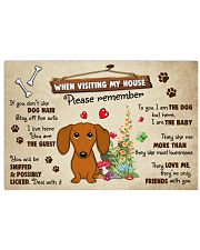 Dachshund Lover Poster No3 24x16 Poster front