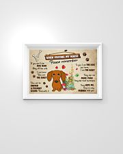 Dachshund Lover Poster No3 24x16 Poster poster-landscape-24x16-lifestyle-02
